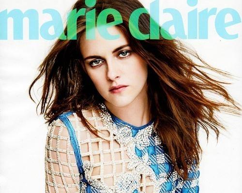 Кристен Стюарт в журнале Marie Claire. Март 2014