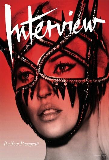 Кейт Мосс для журнала Interview Magazine