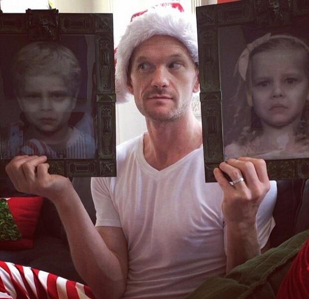 Нил Патрик Харрис получил шокирующий подарок на Рождество