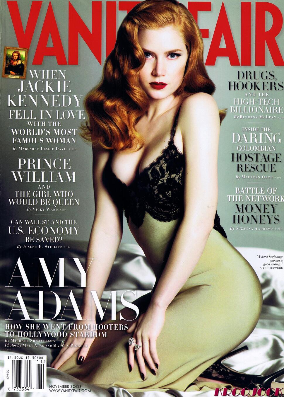 Эми Адамс в ноябрьском номере Vanity Fair 2008