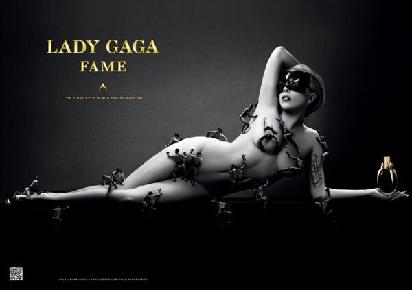 """Первый взгляд на реклманую кампанию аромата Lady Gaga """"Fame"""""""