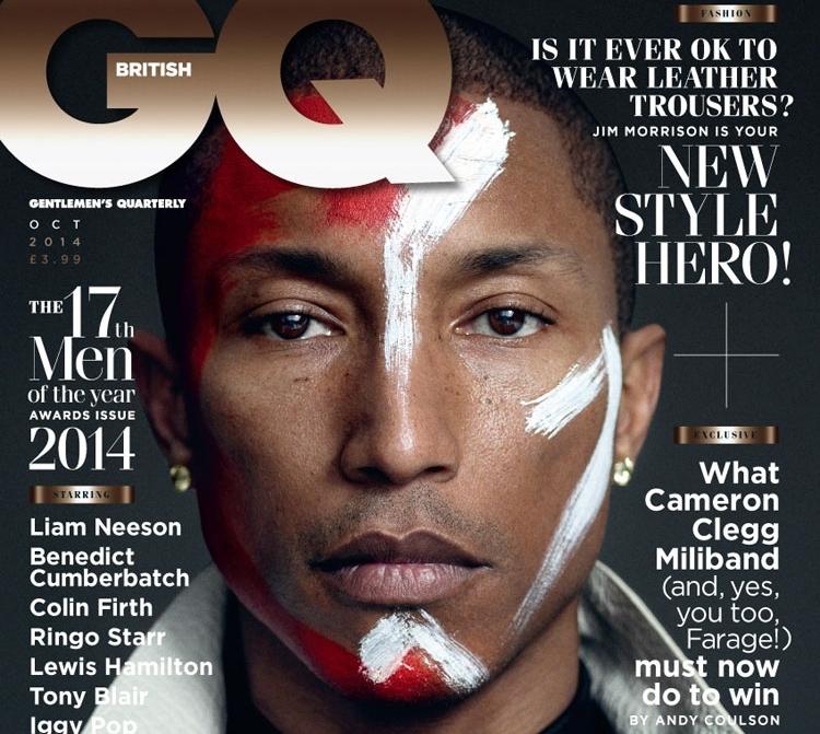 Фаррелл Уильямс в журнале GQ. UK. Октябрь 2014