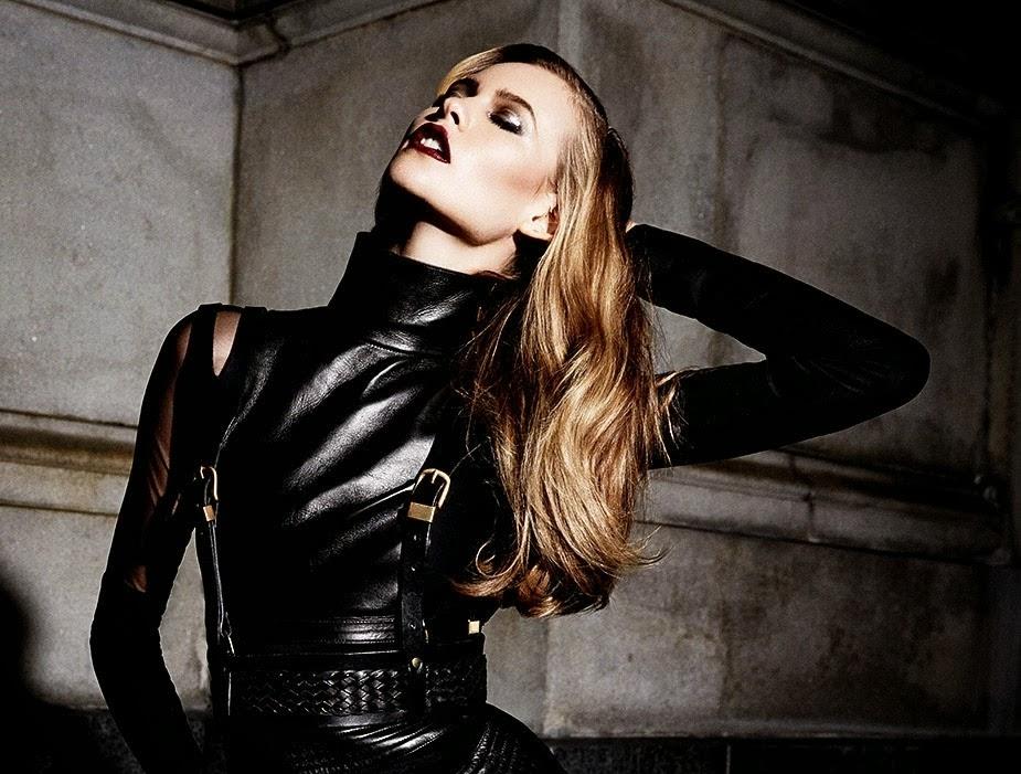 Бехати Принслу в журнале Vogue Мексика. Ноябрь 2013