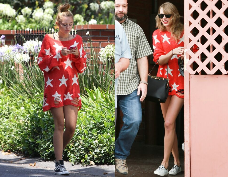 Fashion battle: Майли Сайрус и Тейлор Свифт