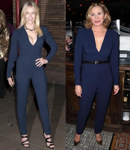 Fashion battle: Челси Хэндлер и Ким Кэттролл