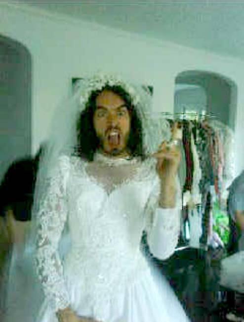Рассел Брэнд - невеста
