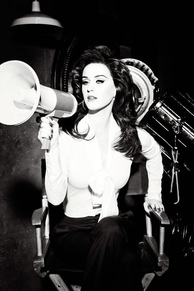 Кэти Перри в рекламной кампании ghd