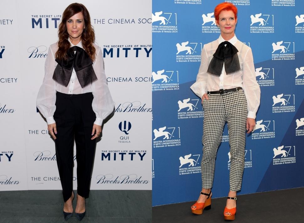 Fashion battle: Кристен Уиг и Сэнди Пауэлл