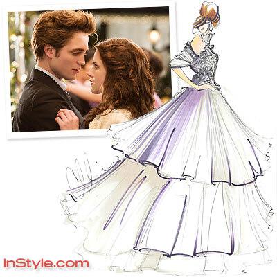 Свадебное платье для Беллы Свон