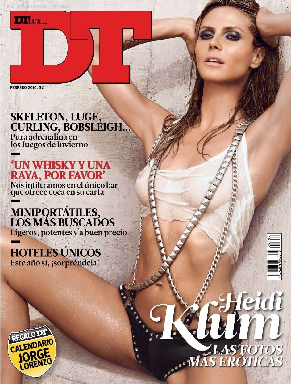 Хайди Клум в журнале DT. Февраль 2010
