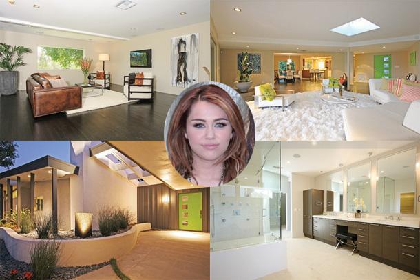Майли Сайрус купила особняк за 4 миллиона долларов