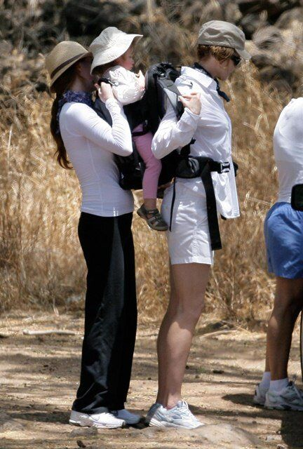 Николь Кидман отправилась с дочерью в поход