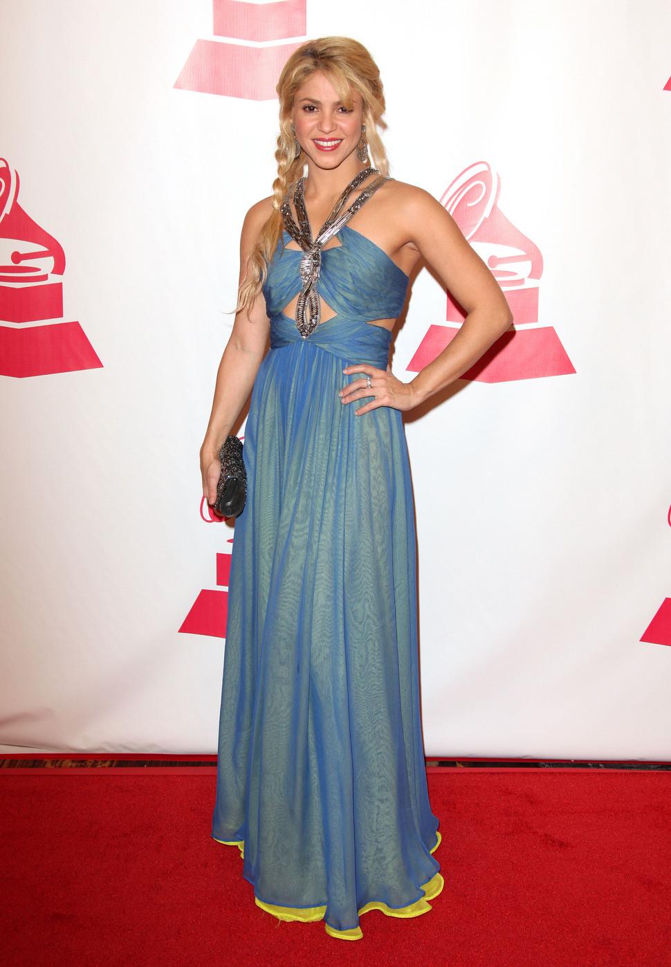 Шакира на церемонии Latin Recording Academy Person of the Year 2011