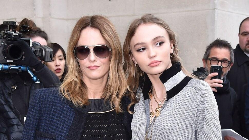 Лили-Роуз Депп повторила образ Ванессы Паради в новой рекламной кампании Chanel