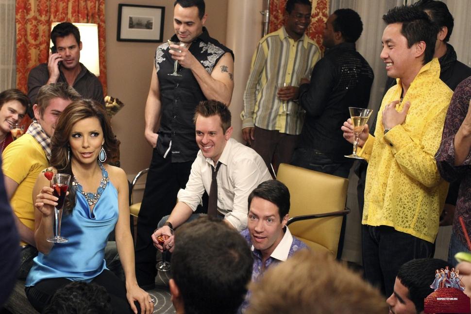 """Фото из нового эпизода под названием The Chase """"Отчаянных домохозяек"""""""