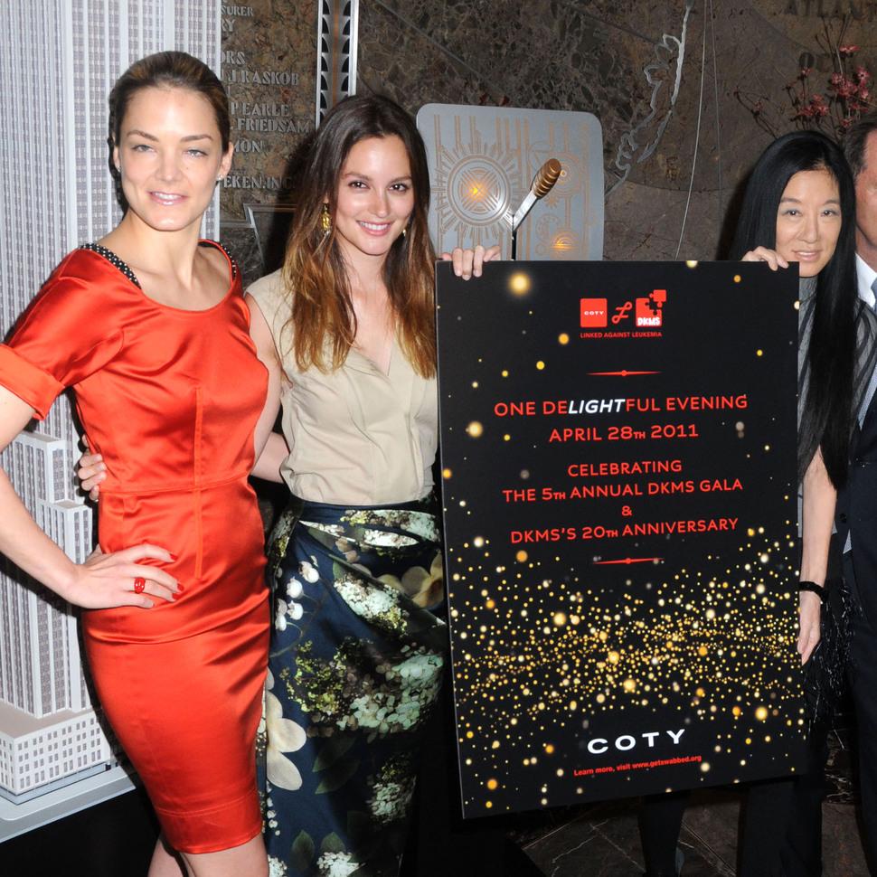 Звезды на благотворительном вечере DKMS