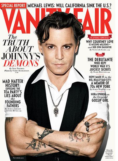 Интервью Джонни Деппа журналу Vanity Fair