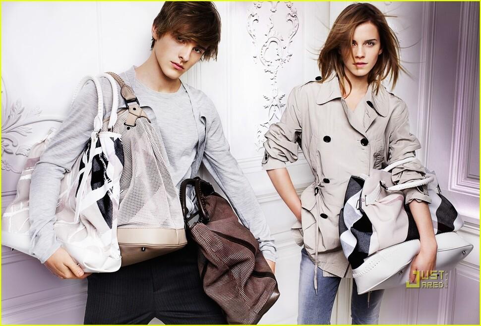 Эмма Уотсон для Burberry S/S 2010