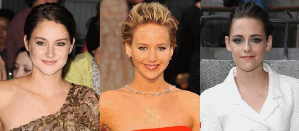 Шейлин Вудли считает сравнение с Кристен Стюарт и Дженнифер Лоуренс лестным