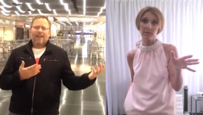 Селин Дион пригласила поклонника из аэропорта в свою ванную