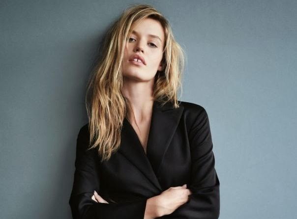 Джорджия Мэй Джаггер в журнале Vogue Великобритания. Февраль 2014