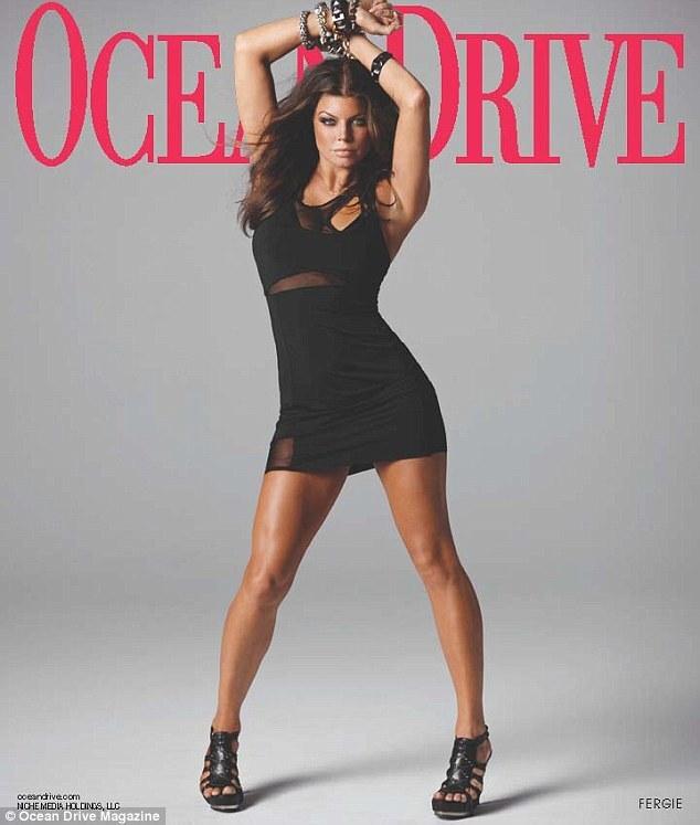 Ферги в журнале Ocean Drive. Ноябрь 2011