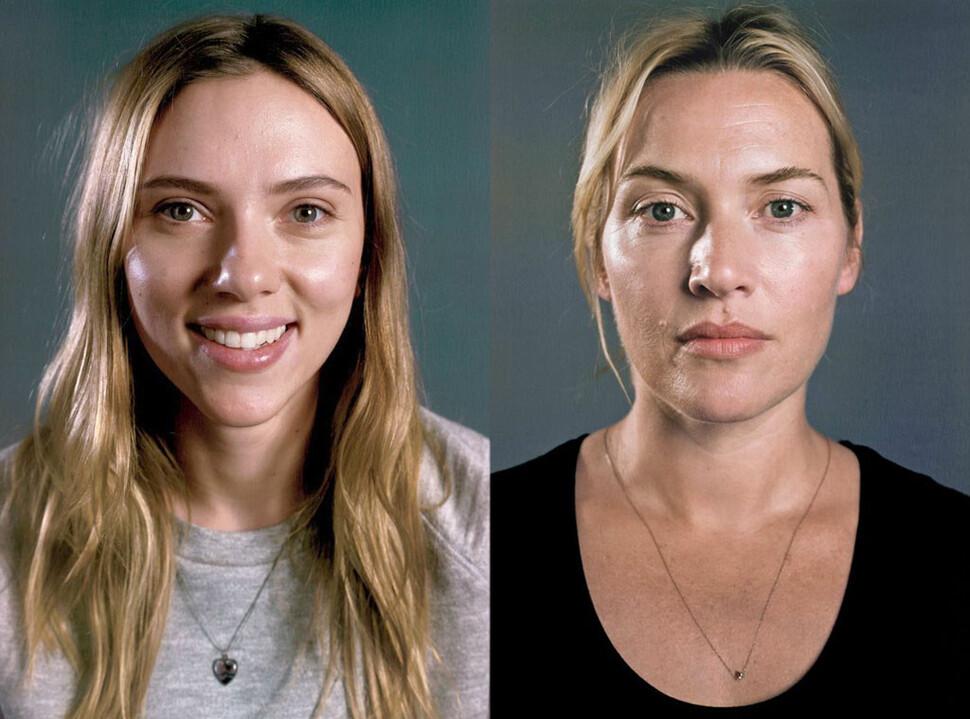 Кейт Уинслет и Скарлетт Йоханссон позируют без макияжа для Vanity Fair
