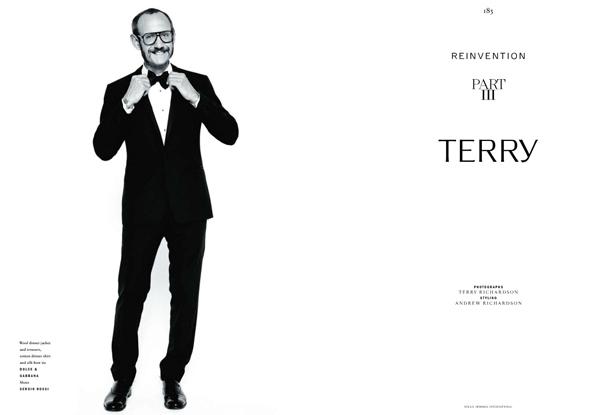 Новая муза Терри Ричардсона – он сам
