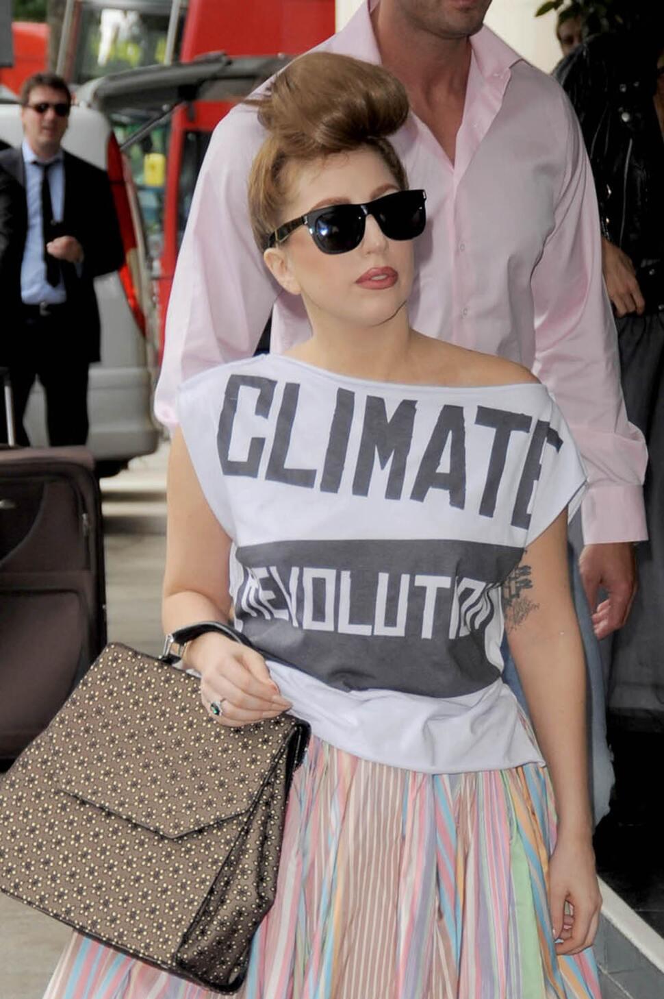 Lady GaGa села на диету