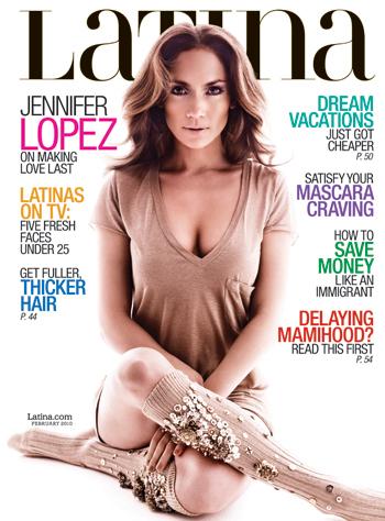 Дженнифер Лопес в журнале Latina