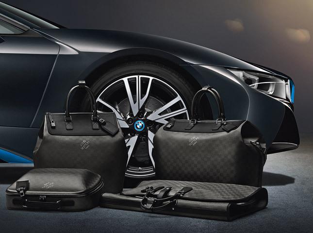 Новая коллекция сумок Louis Vuitton для BMW