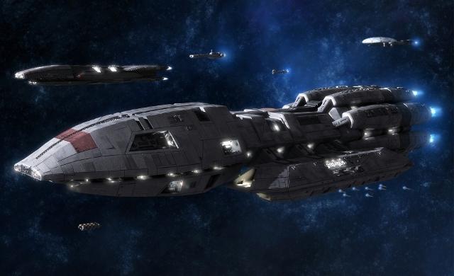 Universal Pictures готовит полнометражный фильм «Звездный крейсер Галактика»