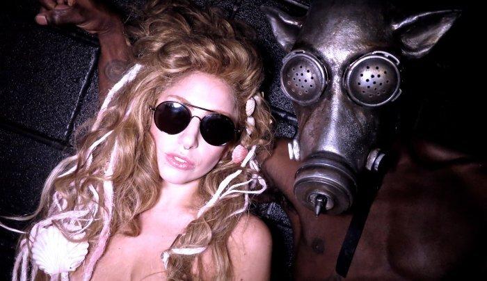 Видео: Lady GaGa репетирует перед премьерой новой песни