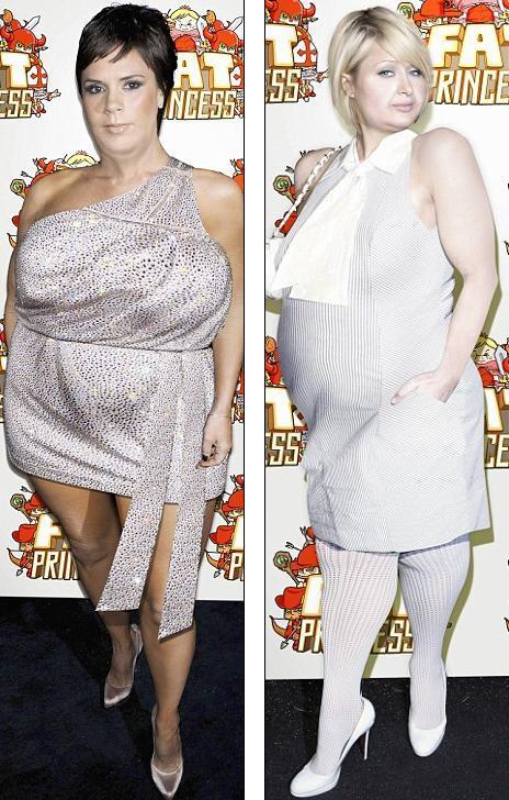 Толстые знаменитости