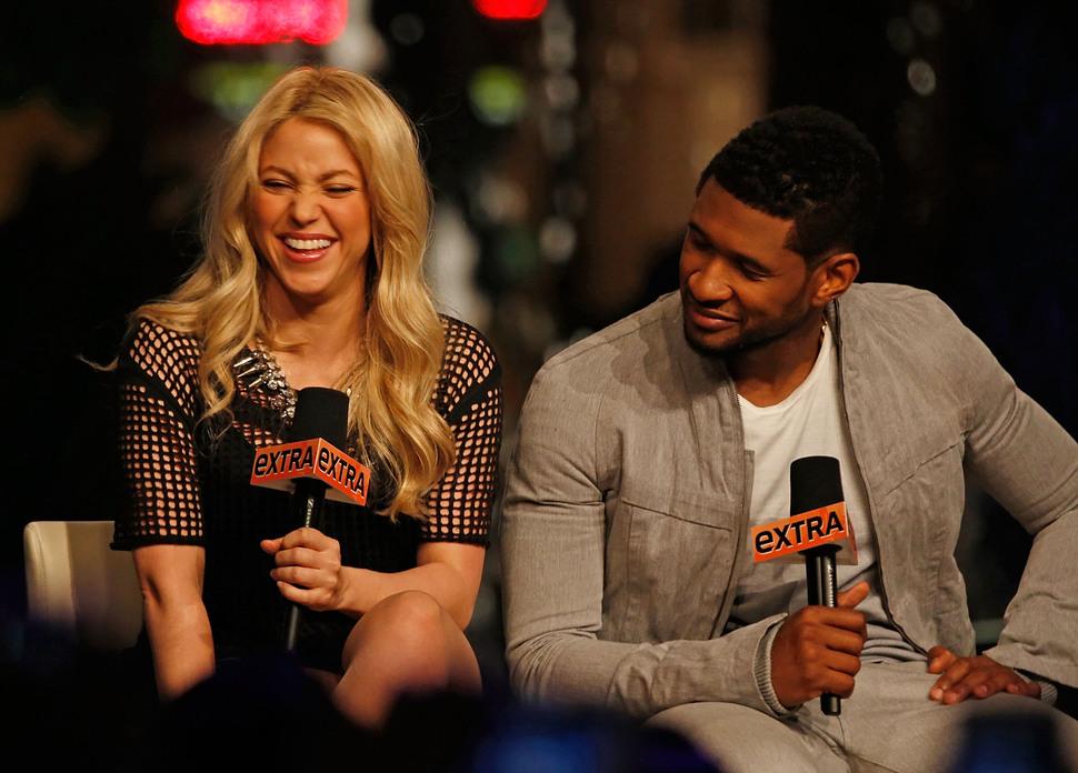 Шакира и Ашер вернутся в The Voice