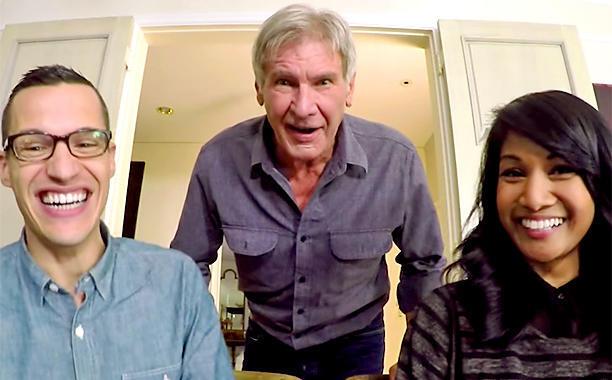 Видео: Харрисон Форд разыграл фанатов «Звездных войн»