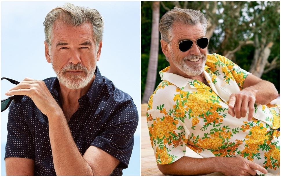 Джеймс Бонд на пенсии: Пирс Броснан в новой фотосессии для Esquire