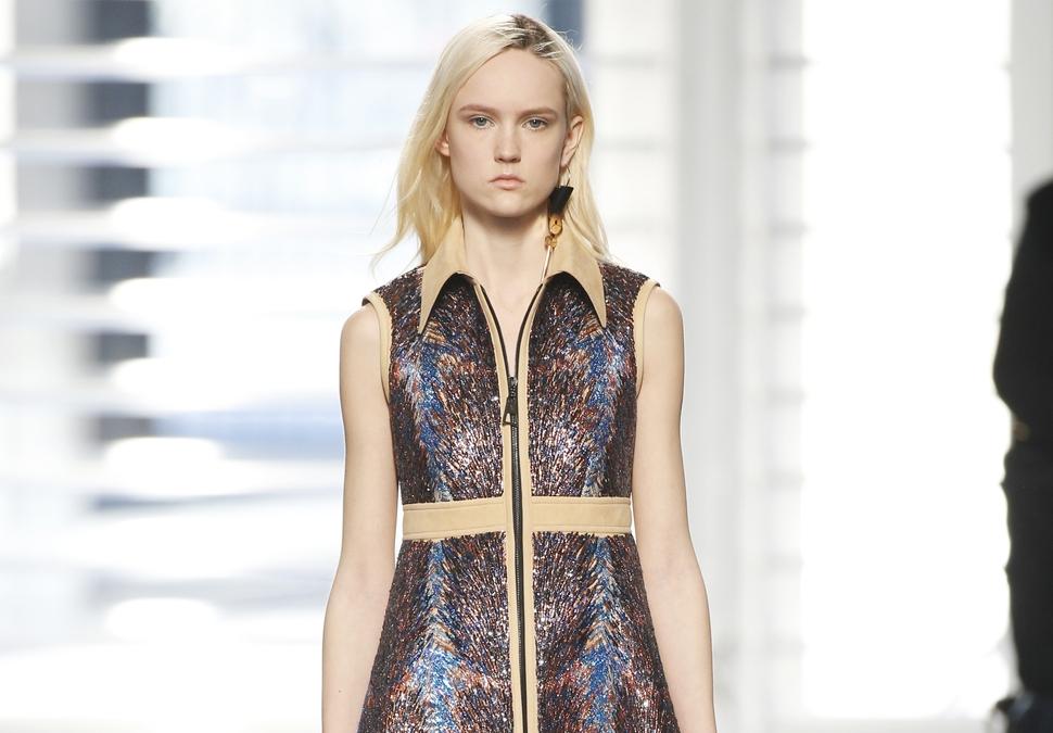 Модный показ новой коллекции Louis Vuitton. Осень / зима 2014