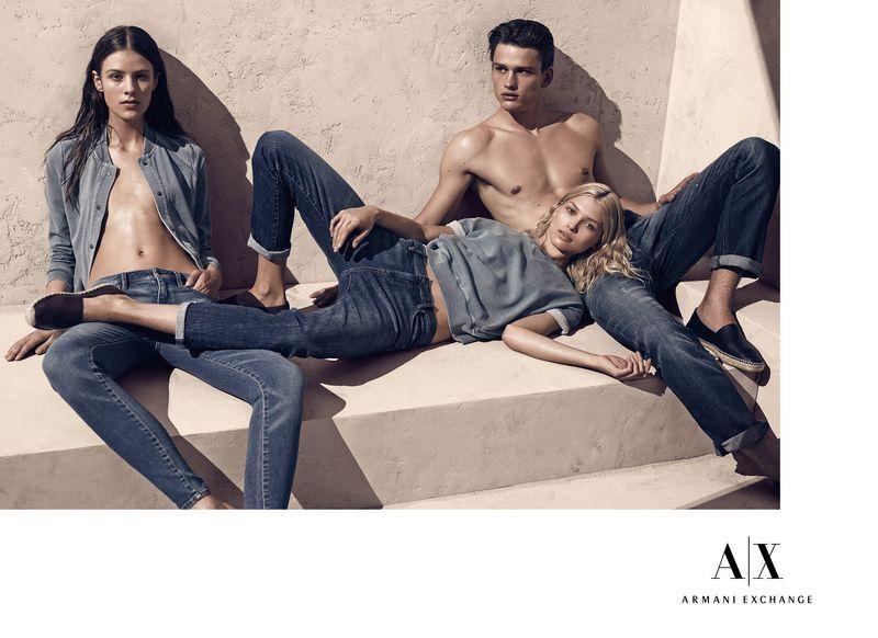 Рекламная кампания Armani Exchange. Весна / лето 2014