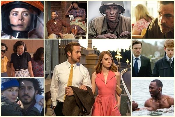 Представляем номинантов на «Оскар» 2017: лучший фильм года