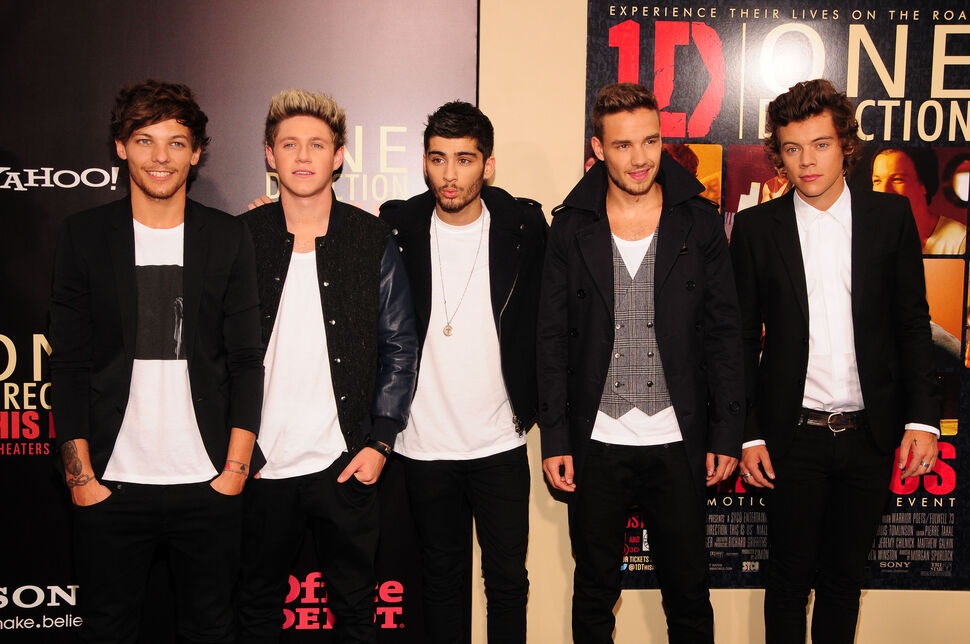 Группа One Direction выпускает новый парфюм