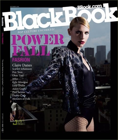 Клэр Дэйнс в журнале Black Book