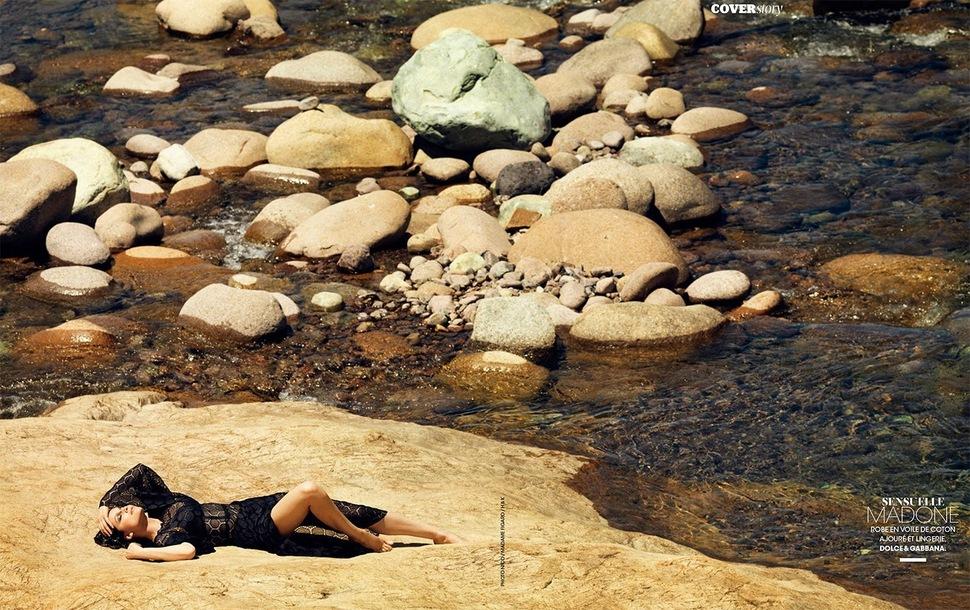Летиция Каста в журнале  Madame Figaro. Июль 2014