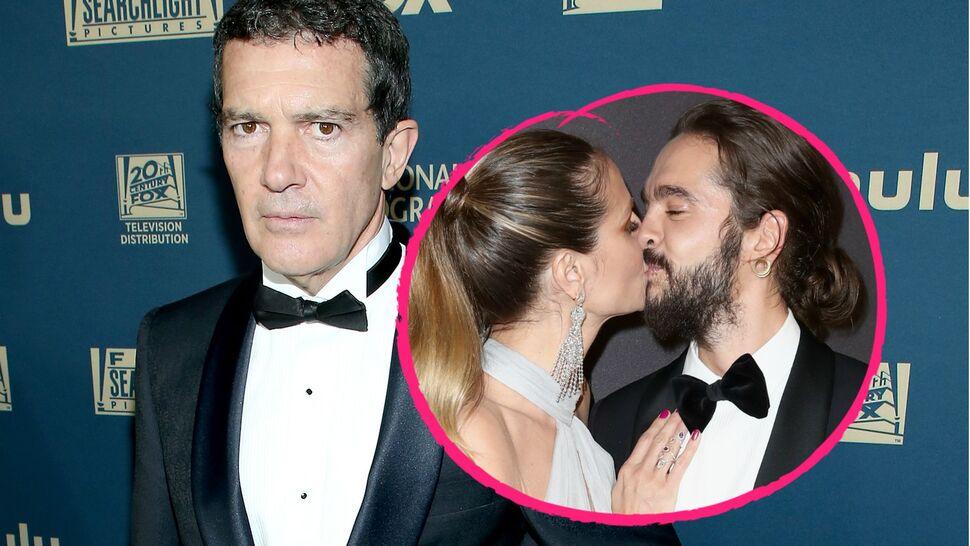 Антонио Бандераса возмутило откровенное поведение Хайди Клум и Тома Каулитца на «Золотом глобусе»