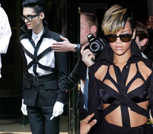 Fashion battle: Билл Каулитц и Рианна