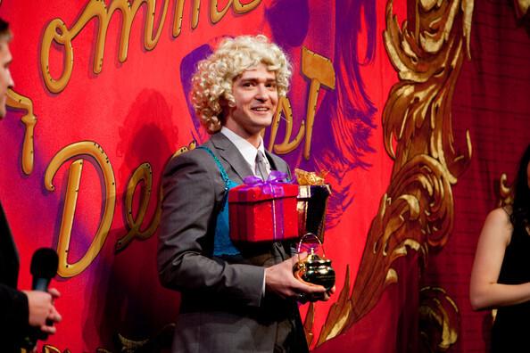 Джастин Тимберлейк получил свой золотой котелок