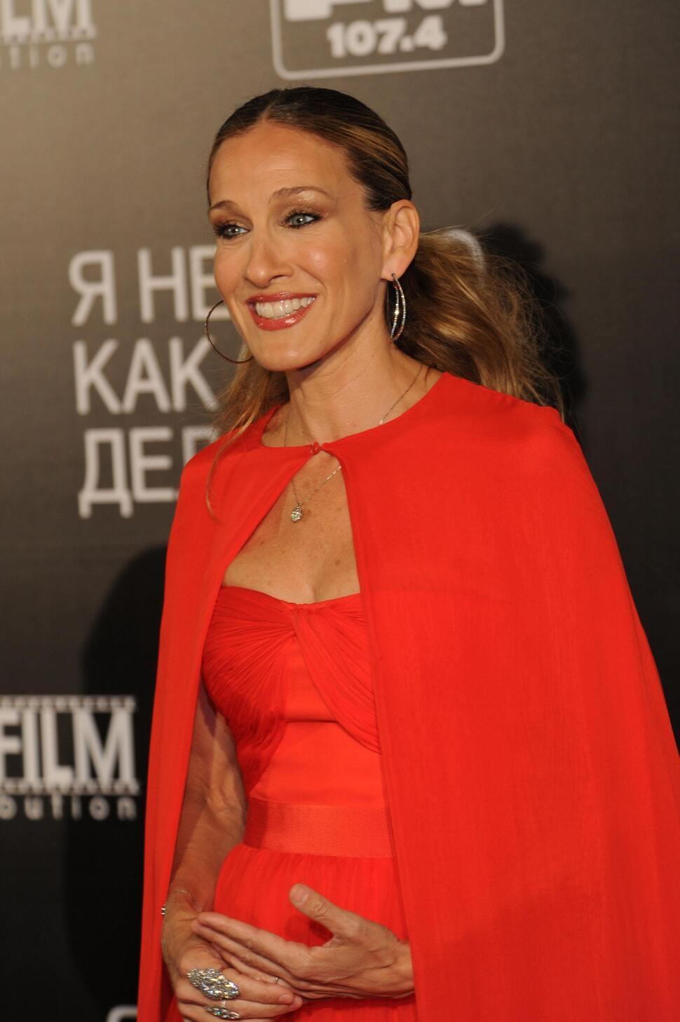 Сара Джессика Паркер представила фильм «Я не знаю, как она делает это» в Москве
