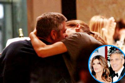 Джордж Клуни и Элизабетта Каналис: Show me love!