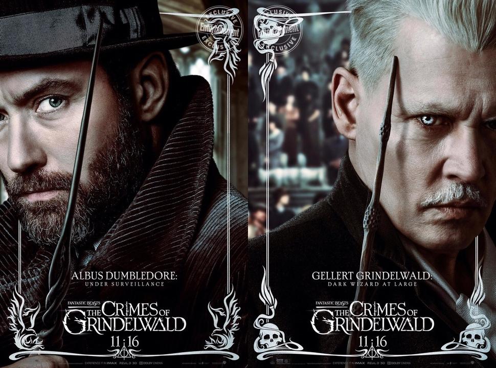 Джонни Депп, Джуд Лоу и другие звезды в финальном трейлере «Фантастических тварей: Преступления Грин-де-Вальда»