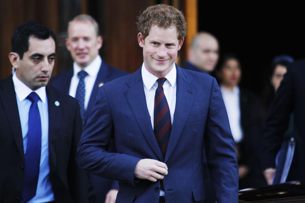 Принц Гарри: мой племянник похож на Уинстона Черчилля